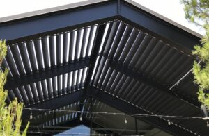 Gable Louvered Cover