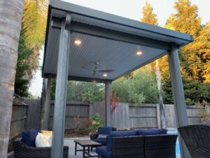 Solid Louvered Cover